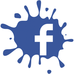 Facebook splat f logo transparent 28